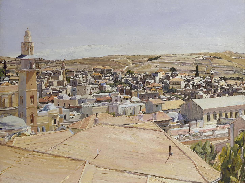 Дэвид Бомберг. Иерусалим, Гора Скопус. 1925