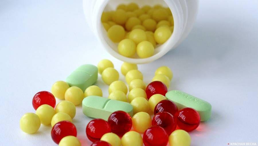 Рассыпанные таблетки