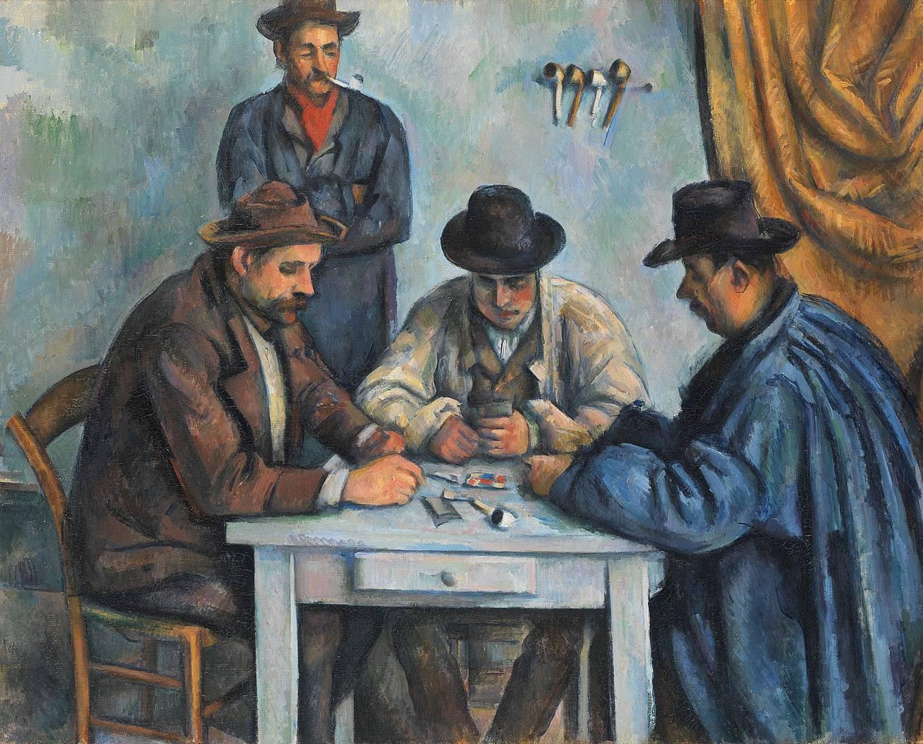 Поль Сезанн. Игроки в карты. 1890–1892