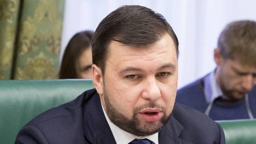 Председатель Народного Совета Донецкой Народной республики Денис Пушилин
