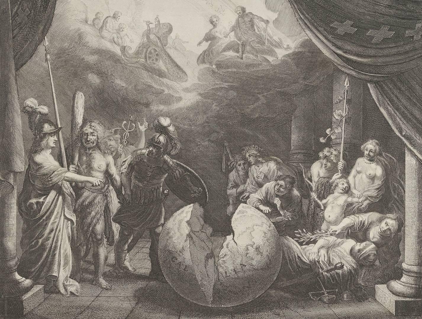 Питер Нолпе. Аллегория раздора во Франции. 1638