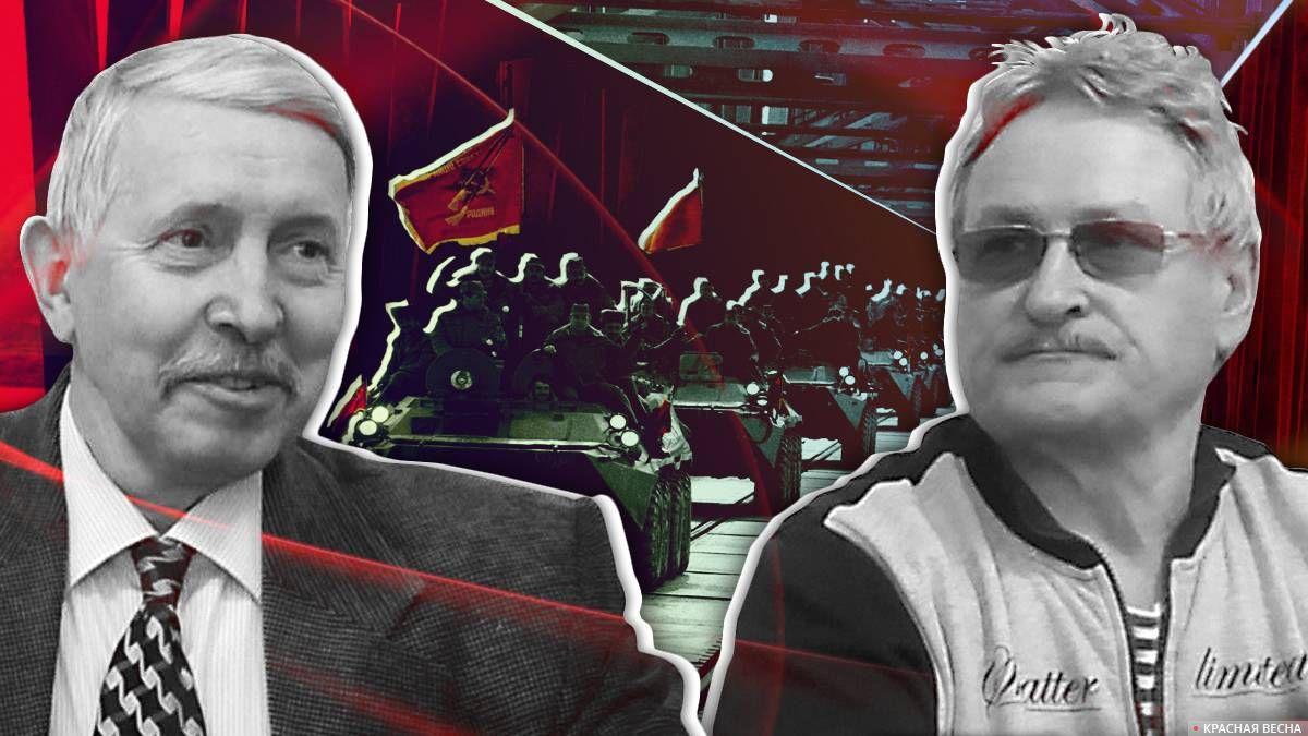 Евгений Ярков и Николай Харламов, офицеры, участники войны в Афганистане