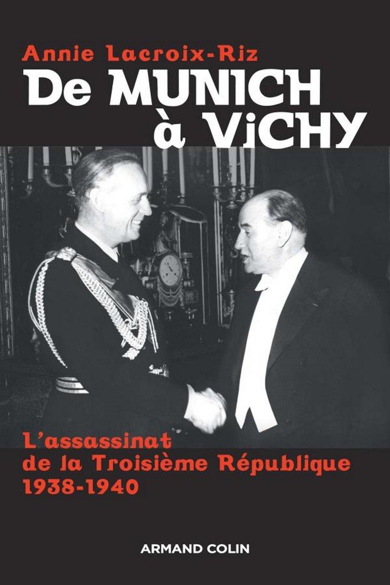Обложка книги Анни Лакруа-Риз «От Мюнхена до Виши»