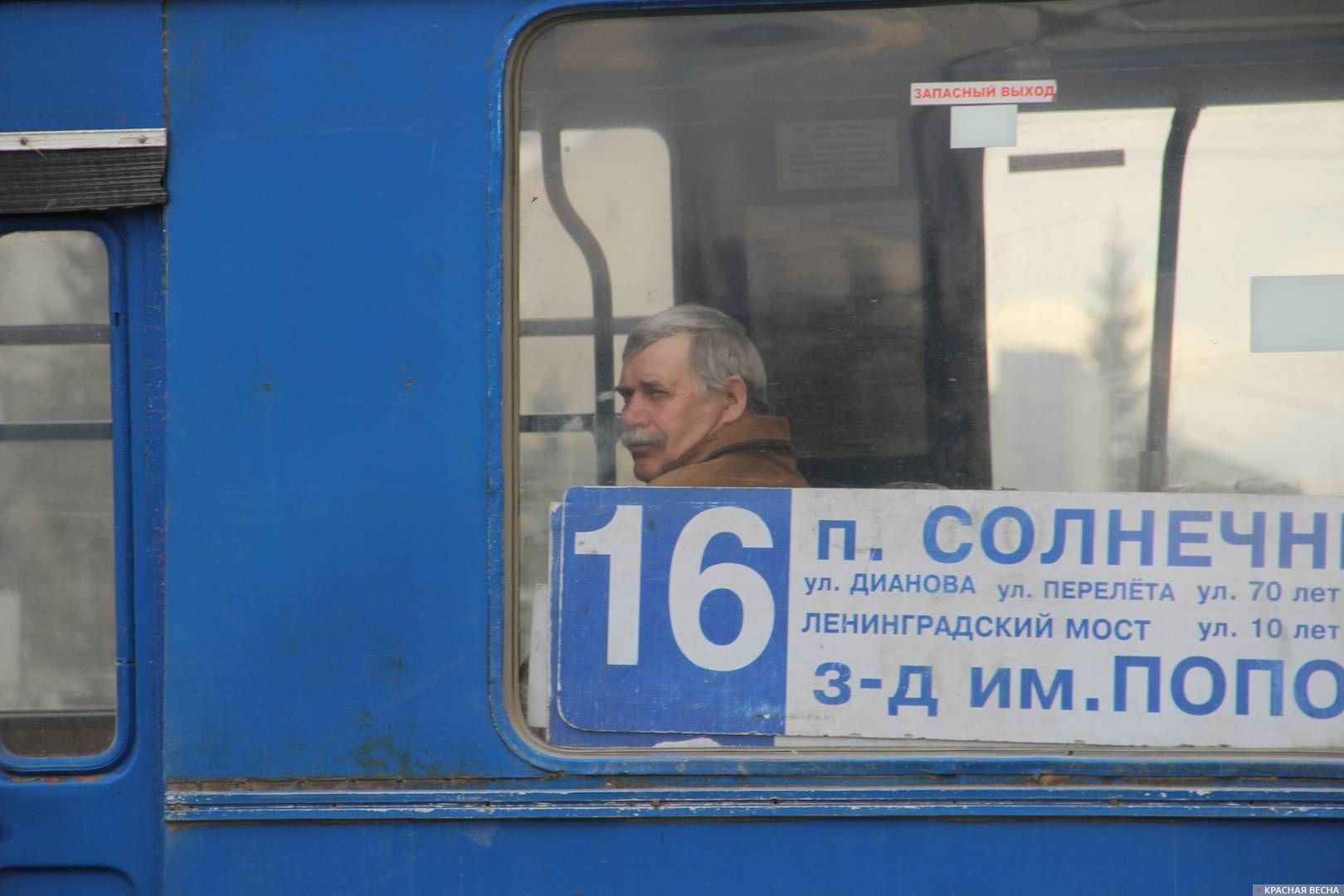Троллейбус №16 в Омске