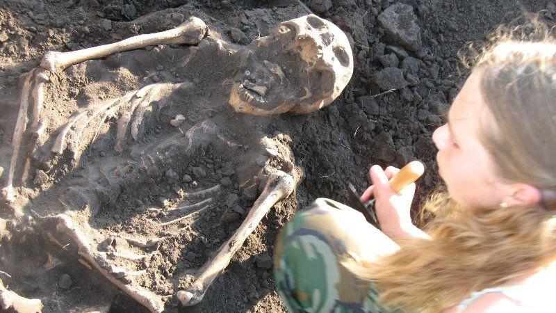 Археологические раскопки. Автор: Дмитрий Кошелев (СС BY-SA 3.0)