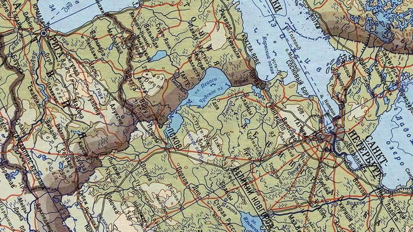Карта границ