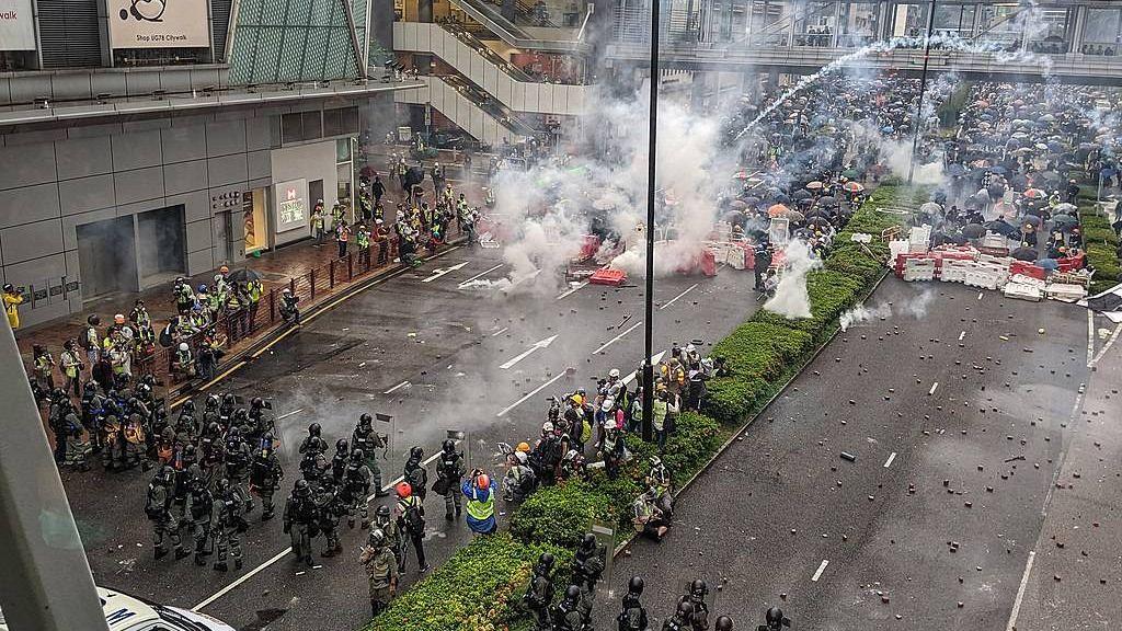 Протесты. Гонконг. 2019