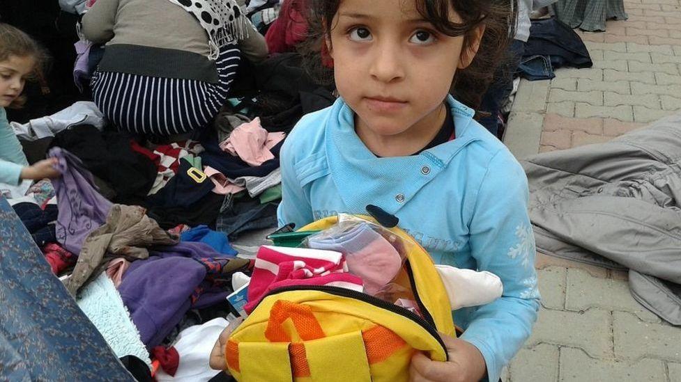 Сирия. Беженцы