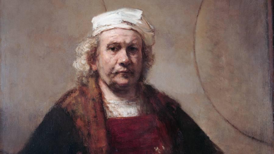 Рембрандт Харменс ван Рейн. Автопортрет. 1665-1669