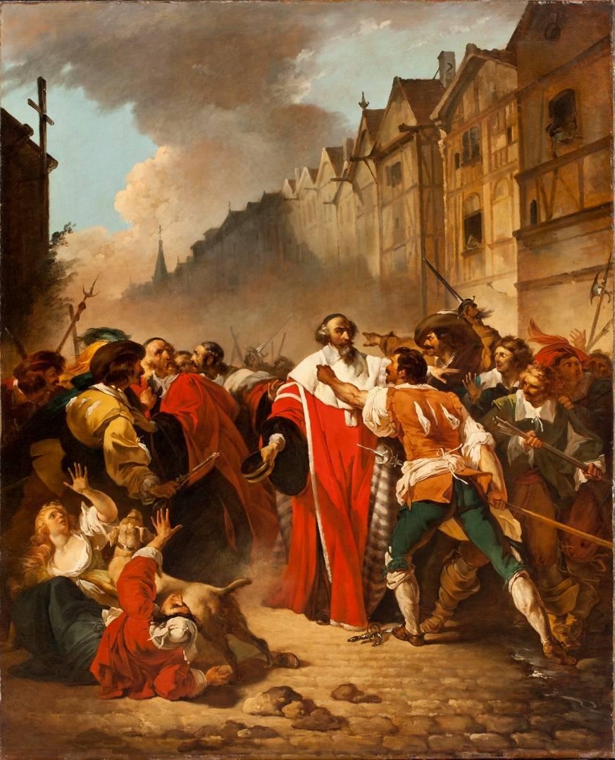 Франсуа Андре Винсент. Президент Моле, схваченный повстанцами во времена Фронды. 1778–1779/