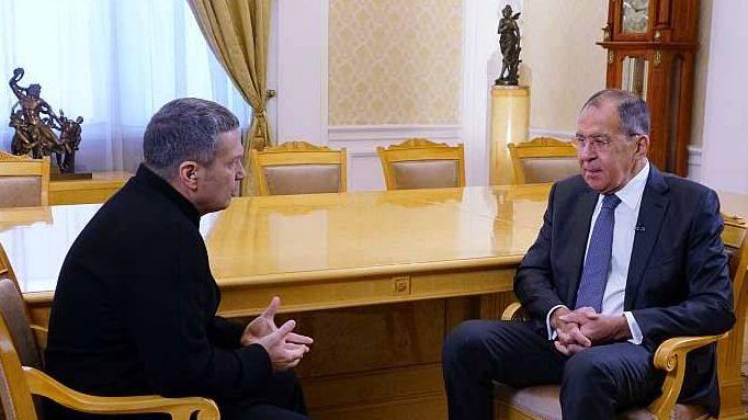 Интервью Министра иностранных дел России С.В.Лаврова программе «Москва. Кремль. Путин», Москва