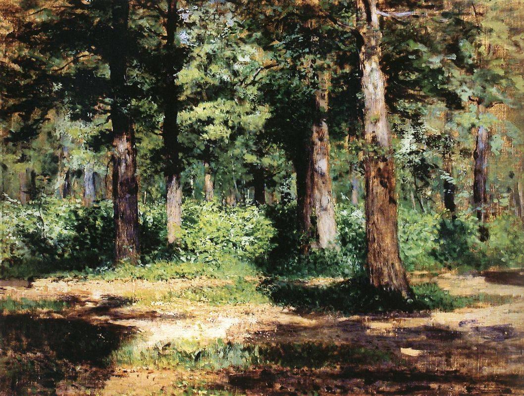 Исаак Левитан. Лес. Солнечный день. 1884