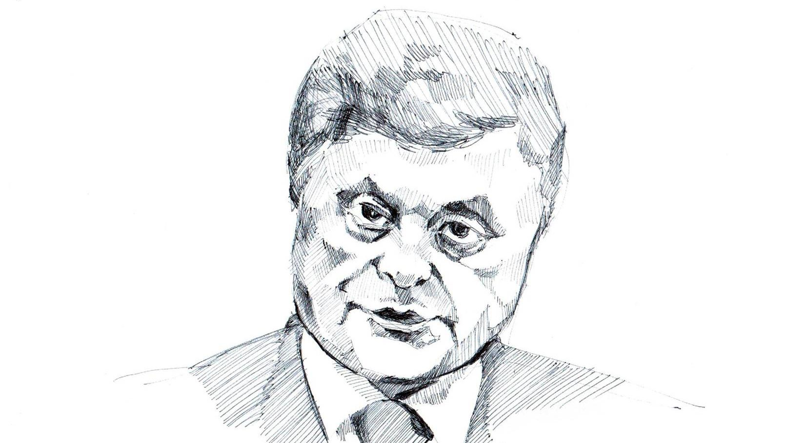 Рисунок Порошенко