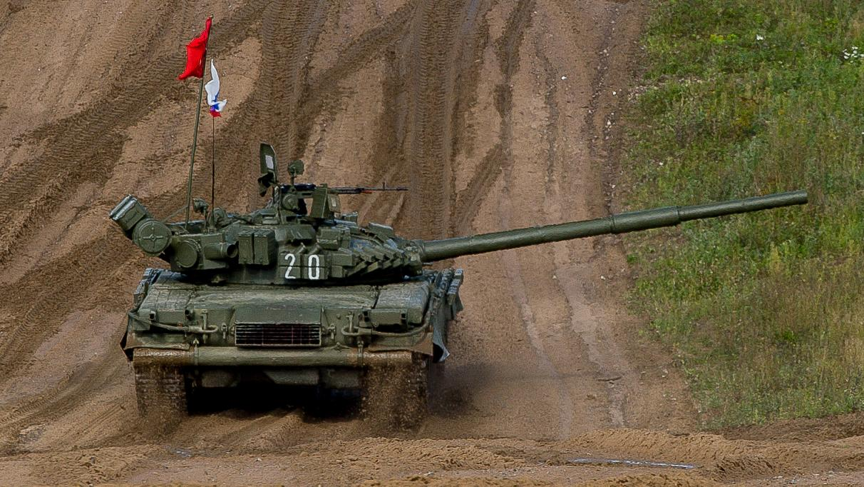Танк российской армии [ © Красная Весна]
