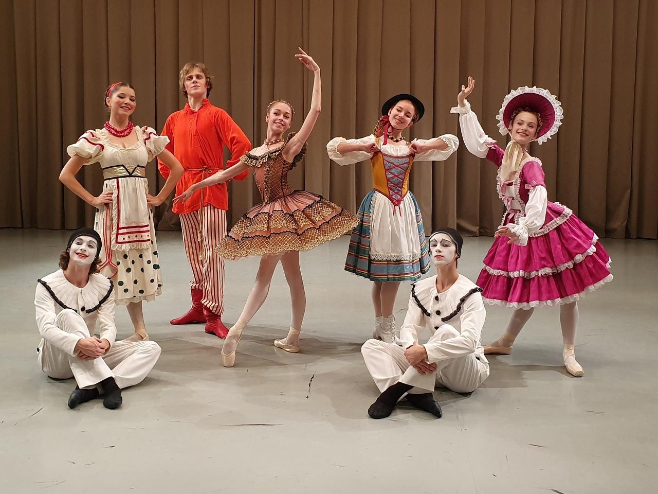 Участники концерта в Учебном театре Академии