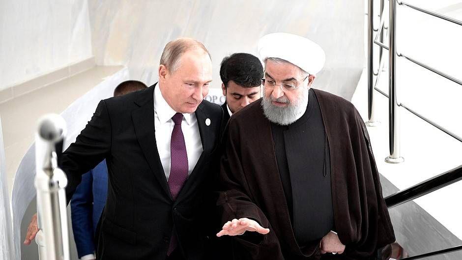 Встреча с Президентом Ирана Хасаном Рухани