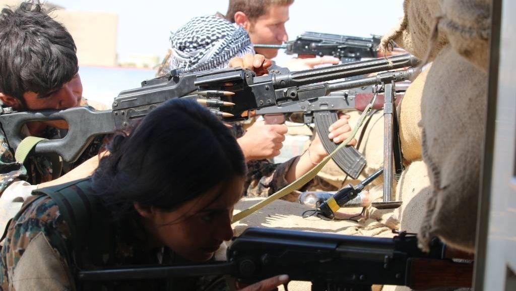 Курды на позиции