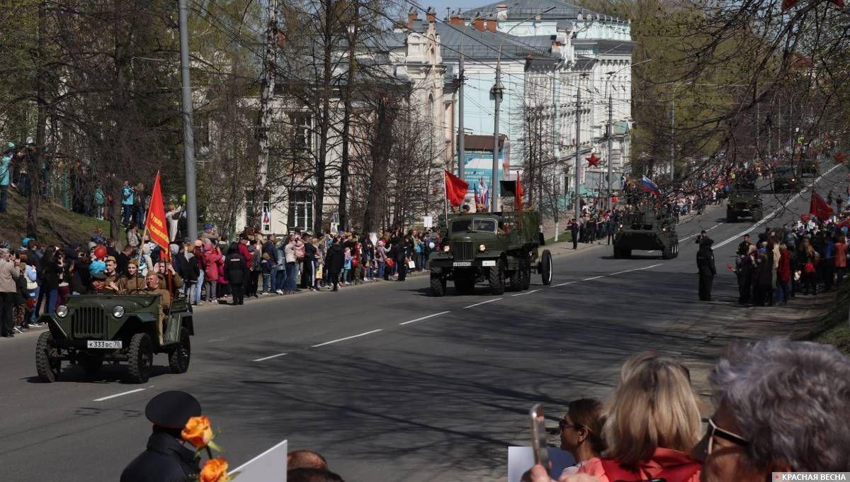 Томск. Парад