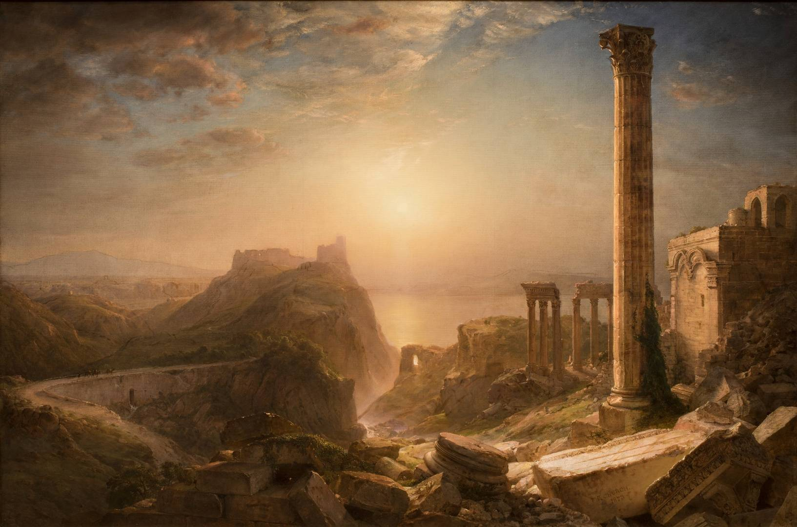 Frederic Edwin Church. Сирия у моря. 1873