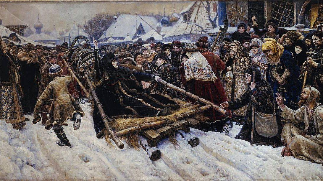 Василий Суриков. Боярыня Морозова. 1887