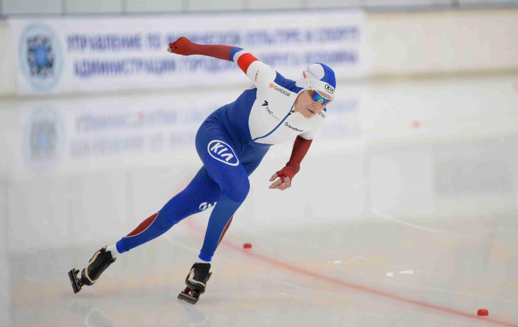Всероссийские соревнования среди студентов по конькобежному спорту