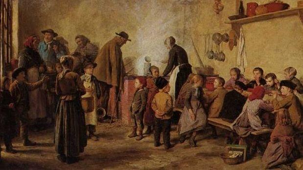 Альбрехт Анкер. Суп для бедных. 1893