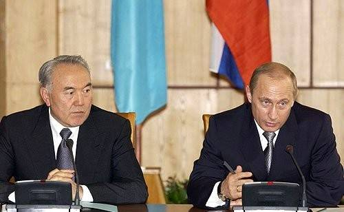 Пиутин и Назарбаев