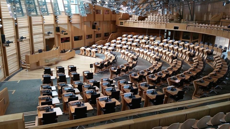 Зал заседаний шотландского парламента, Эдинбург