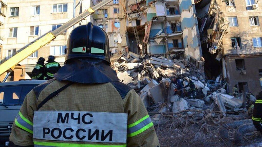 Спасательные работы в Магнитогорске