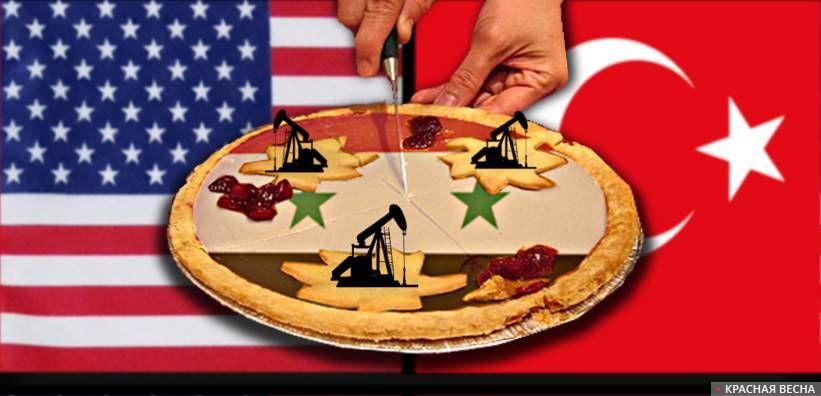 Сирия, США и Турция