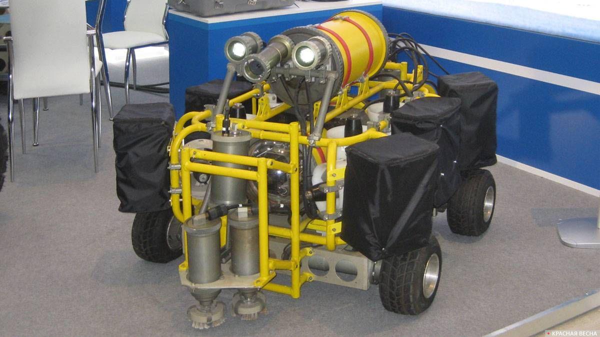 Телеупра1вляемый подводный робот (МГТУ им. Н.Э.Баумана)