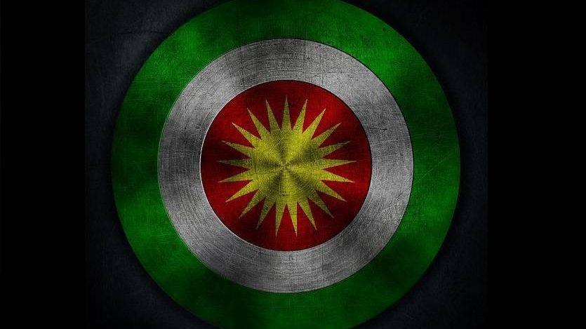 Курдский флаг