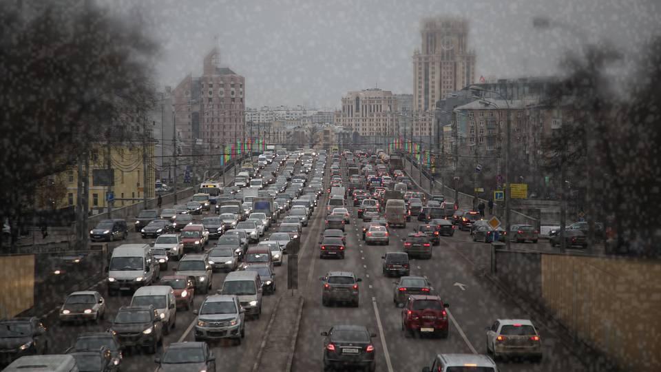 Загруженность дорог в Москве