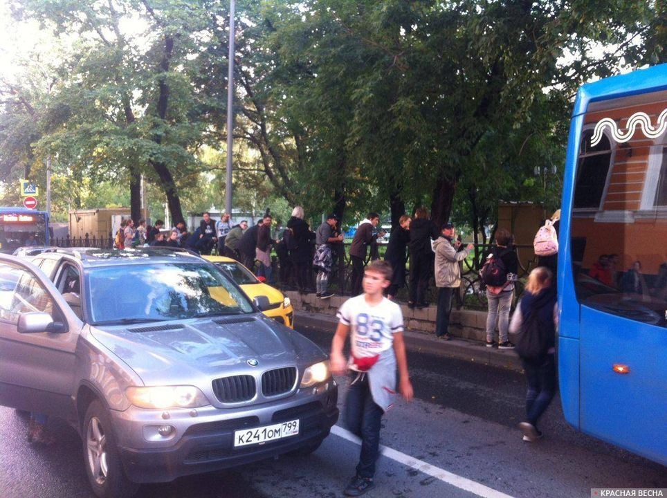 После зачистки Ильинского сквера