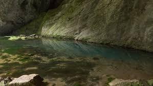 Голубое озеро. Капова пещера. Заповедник Шульган-Таш. Башкирия