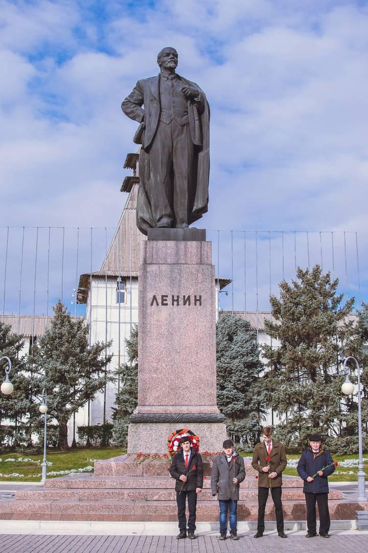 Астрахань. Площадь Ленина