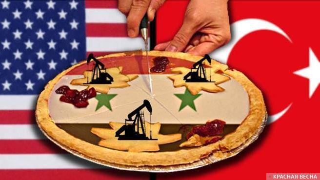 Сирия. США. Турция