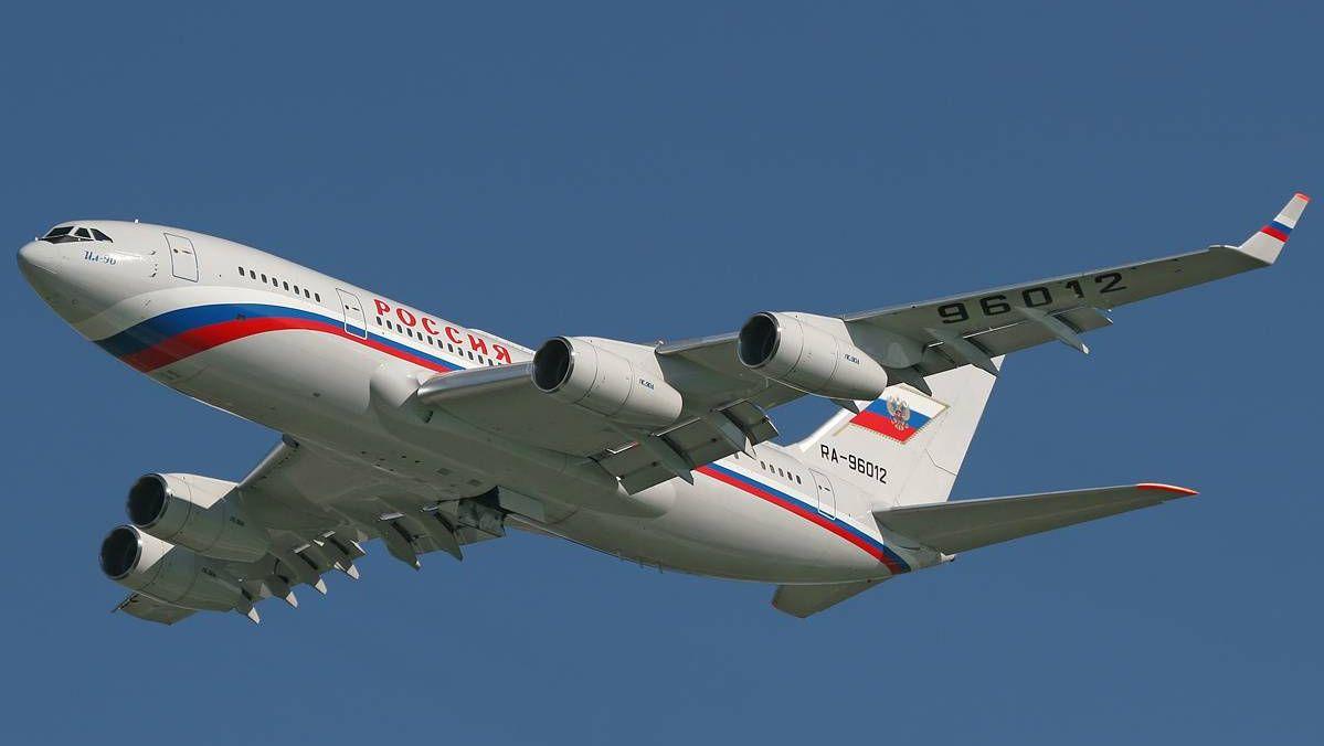 Самолет Ил-96 отряда «Россия»