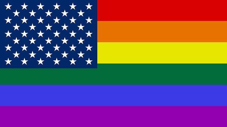 радужный флаг, сша и лгбт, лгбт
