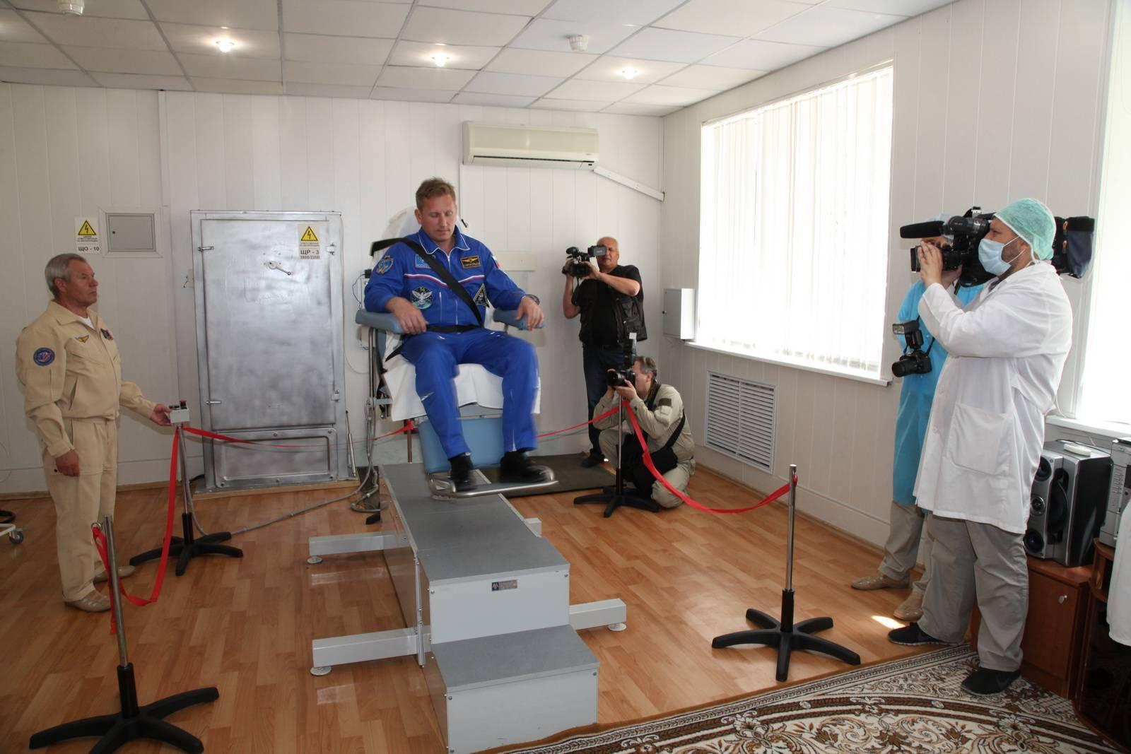 Открытые тренировки космонавтов