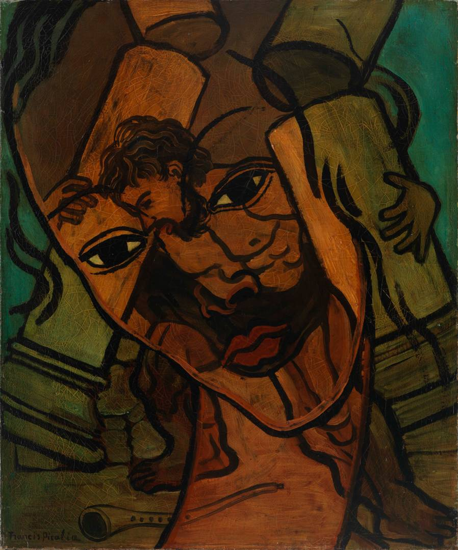 Франсис Пикабиа. Прозрачность (Самсон и Далила). 1935–1937