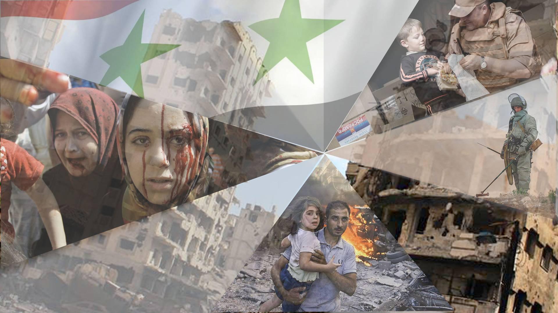 Сирия в руинах