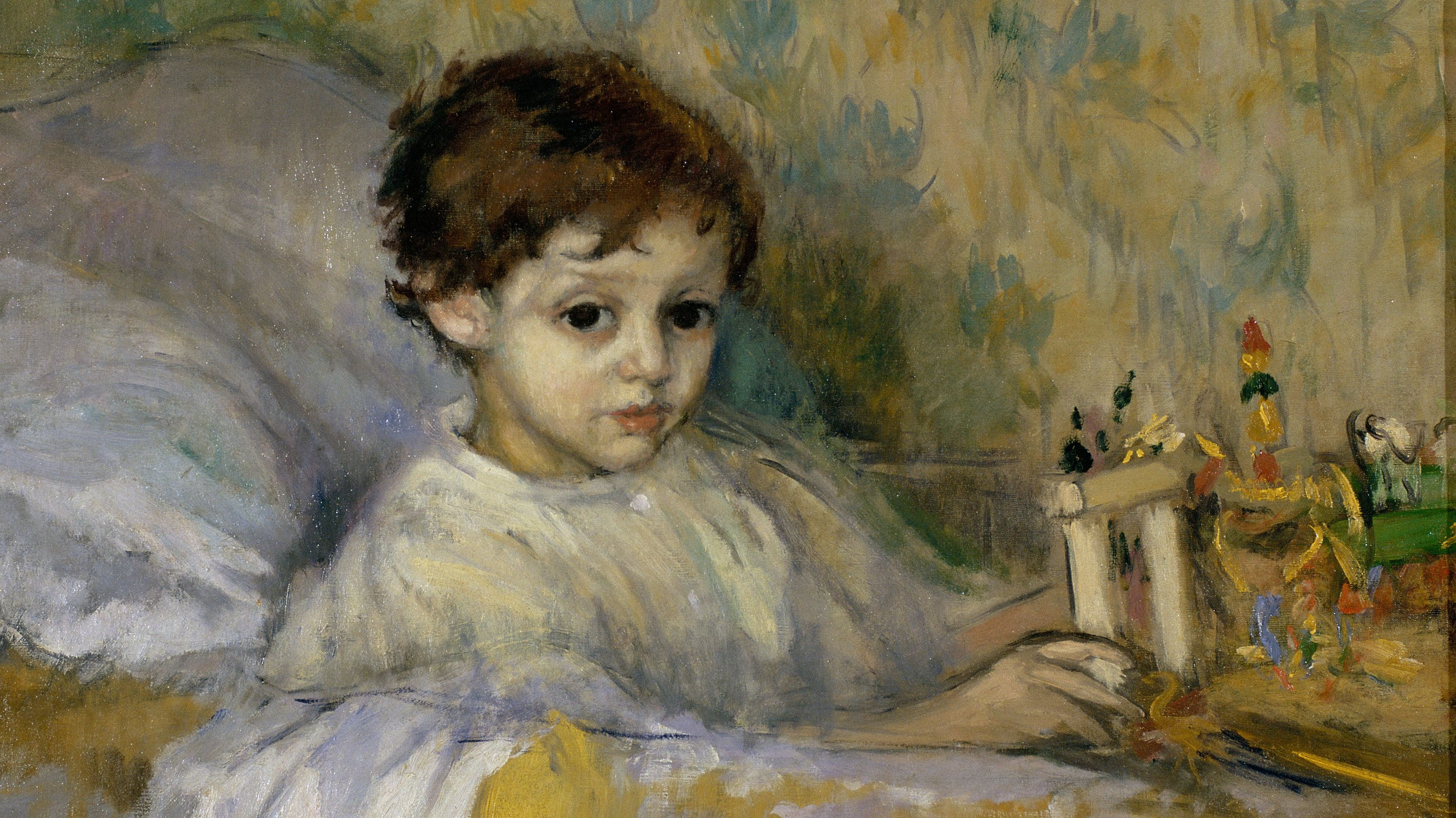 Рикард Каналс. Больной ребенок. 1903