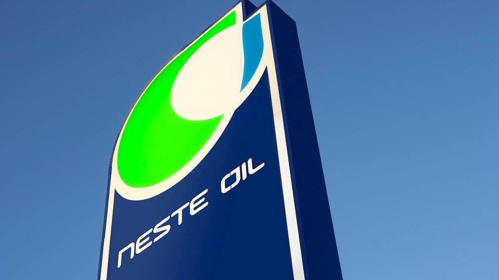 Логотип нефтепромышленного концерна Neste