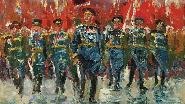 И. Радоман. Парад Победы. 1985