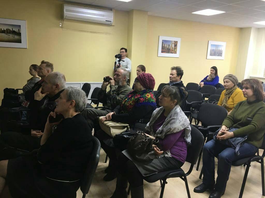 Открытая встреча с рабочими коллективами и общественностью, Калуга