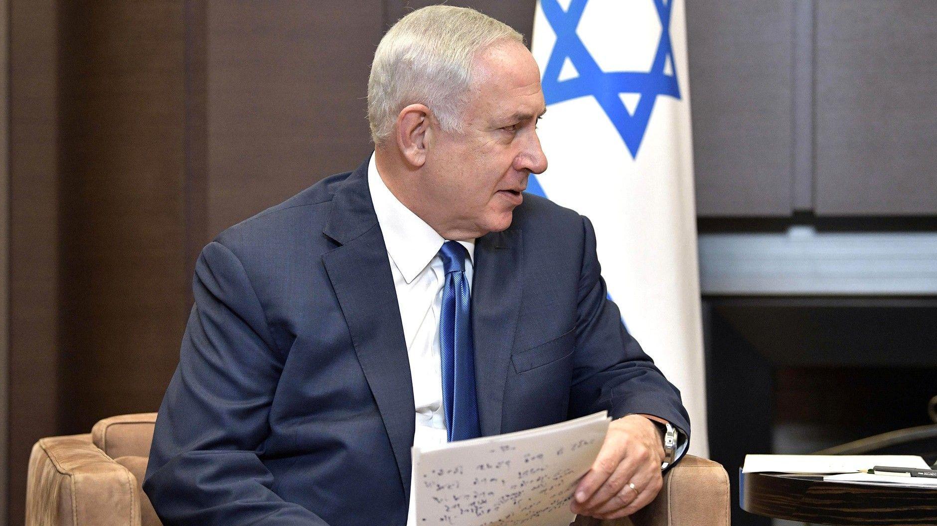 Премьер-министр Израиля Биньямин Нетаньяху [kremlin.ru]
