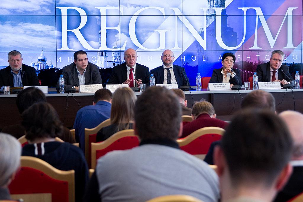 Пресс-конференция в ИА REGNUM. 29 марта 2017 г.