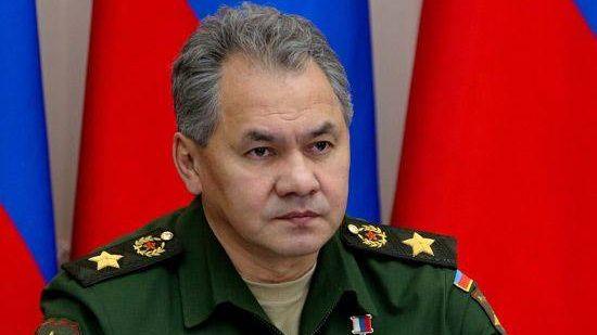 Министр обороны РФ генерал армии Сергей Шойгу проверил