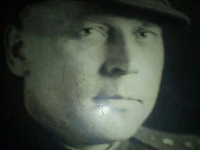Голубев Иван Арсеньевич, инженер-капитан, инспектор по вооружению Ленинградского фронта